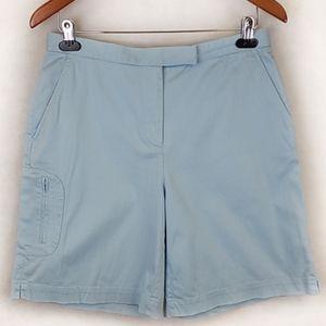 Liz Golf by Liz Claibore Blue Shorts Size 10